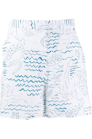 Kenzo Wave Mermaids' Shorts