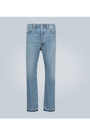 Golden Goose High-Rise Slim-Fit Jeans Happy