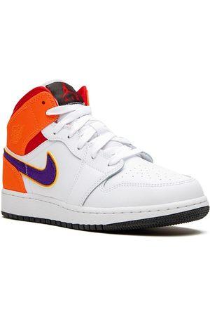 Nike Air Jordan 1 MID (GS) Three Peat' Sneakers