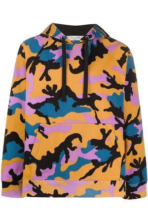 VALENTINO Kapuzenpullover mit Camouflage-Print
