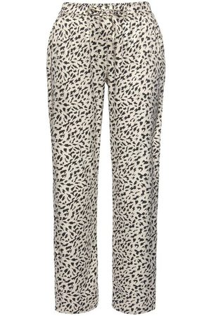 Lascana Pyjamahose aus Satin mit Animal-Print