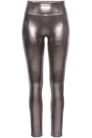LASCANA Leggings mit glänzender Beschichtung
