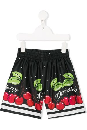 Monnalisa Shorts mit Kirschen-Print