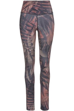 Lascana Leggings » Leggings Tropical« mit breitem Bund