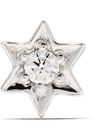 Sydney Evan 18kt Weißgoldring mit Diamanten