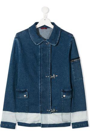 FAY KIDS TEEN Jeansjacke mit verdecktem Verschluss