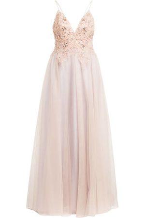 Unique Abendkleid Pastel Romance Mit Stola rosa