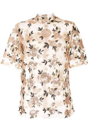 Macgraw Damen Tops & T-Shirts - Oberteil mit Sheer-Effekt