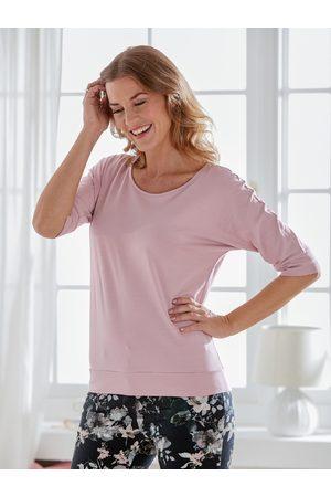 Avena Damen Klimasoft-Shirt Halbarm Rosé
