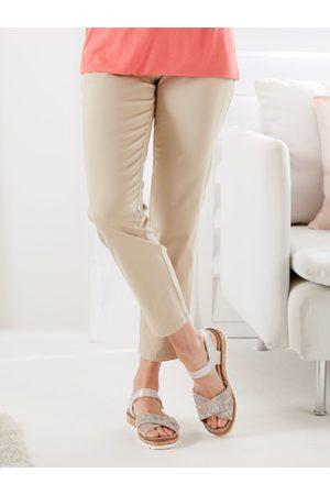 Avena Damen Hosen & Jeans - Damen Baumwoll-Hose einfarbig