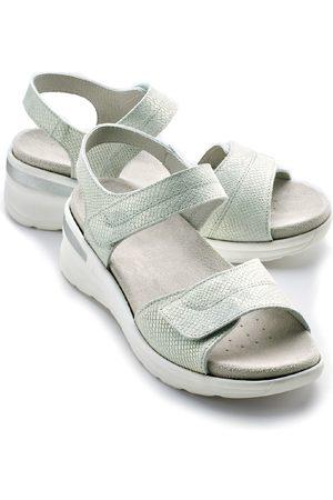 Avena Damen Sandalen - Damen Klett-Sandalette Chic & Sicher