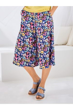 Avena Damen Bedruckte Röcke - Damen Hosen-Rock geblümt
