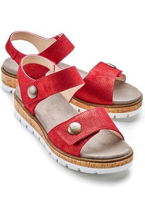 Avena Damen Klett-Sandale Softpolster