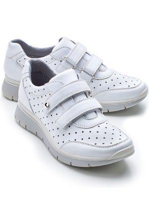 Avena Damen Wohlfühl-Klett-Sneaker