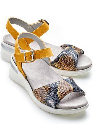 Avena Damen Sandalen gemustert