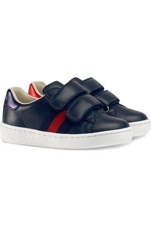 Gucci Sneakers mit Webstreifen