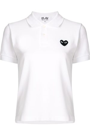 Comme des Garçons Poloshirt mit Logo-Patch