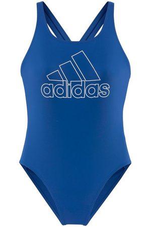 adidas Badeanzug, mit großem Logoprint