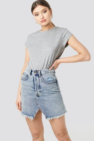Cheap Monday Shrunken Skirt - Blue