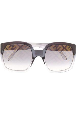 Fendi Eyewear Oversized-Sonnenbrille mit Logo