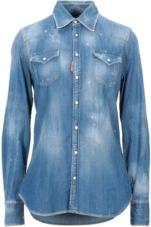 Dsquared2 Damen Blusen - DENIM - Jeanshemden