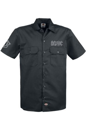 AC/DC Let There Be Rock, Dickies Workerhemd Kurzarmhemd
