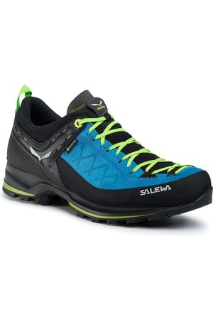 Salewa Herren Sneakers - Ms Mnt Trainer 2 Gtx GORE-TEX 61356 Blue Danube/Flue Green