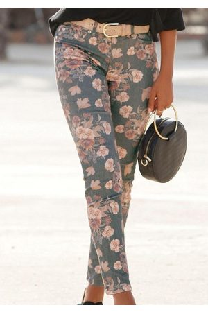 Lascana 7/8-Jeggings mit Blumenprint