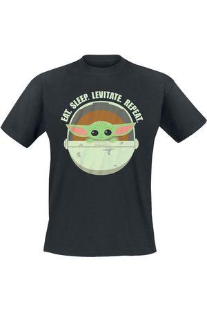 STAR WARS The Mandalorian - Eat. Sleep. Levitate. Repeat. T-Shirt