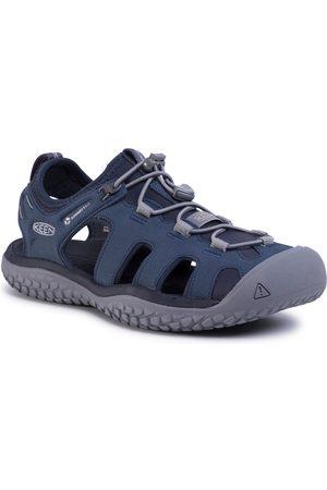 Keen Solr Sandal 1022431 Navy/Steel Grey