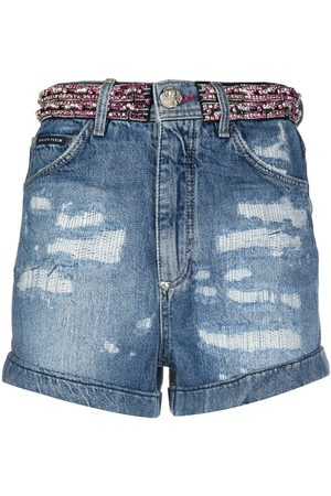 Philipp Plein Shorts mit Strass