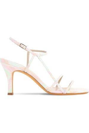 MARYAM NASSIR ZADEH 95mm Irene Leather Sandals