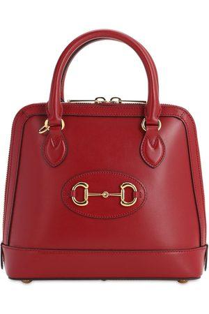 Gucci Sm 1955 Horsebit Leather Top Handle Bag