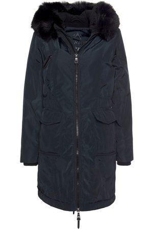 ALPENBLITZ Wintermantel hochwertige Winterjacke mit Kapuze und abnehmbarem Kunstfell