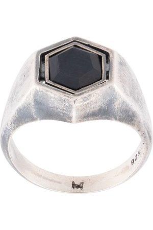 M. Cohen Herren Ringe - The Hexagon Spinning' Ring