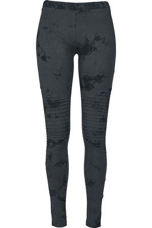 Urban classics Ladies Biker Batik Leggings Leggings dunkelblau/