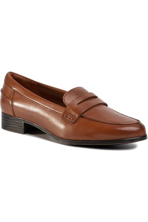 Clarks Hamble Loafer 261477404 Tan Leather