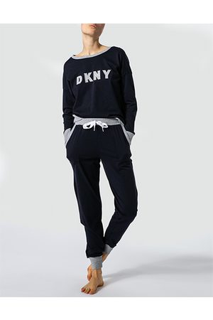 DKNY Damen Jogginghosen - New Signature Top&Jogger