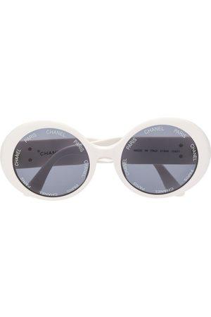 Chanel Pre-Owned Sonnenbrille mit runden Gläsern