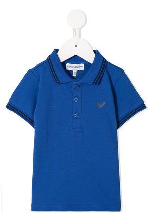 Emporio Armani Kids Poloshirts - TEEN Poloshirt mit Kontrastdetails