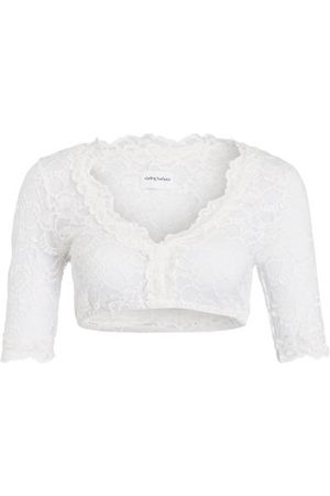 DARLING HARBOUR Dirndlbluse weiss
