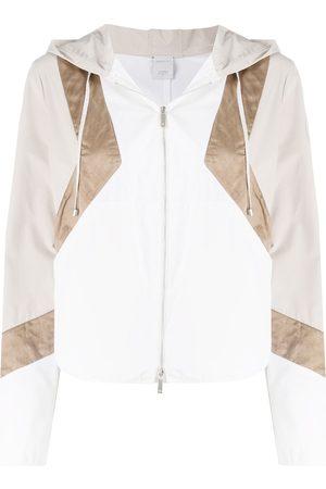 LORENA ANTONIAZZI Damen Jacken - Jacke mit geometrischen Einsätzen