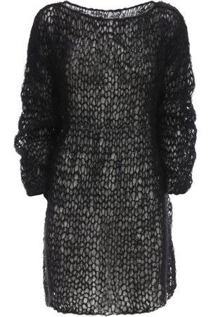 GUDRUN & GUDRUN Folva Mohair Blend Knit Mini Dress