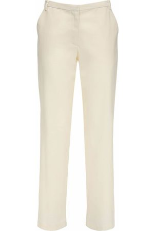 MARYAM NASSIR ZADEH Cape Wool Blend Twill Straight Pants