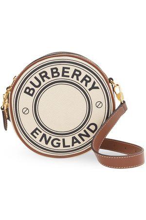 Burberry Runde Handtasche aus Leder