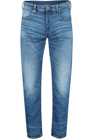 """G-Star Herren Jeans """"3301 Straight Authentic Faded Blue"""" Straight Tapered Fit"""