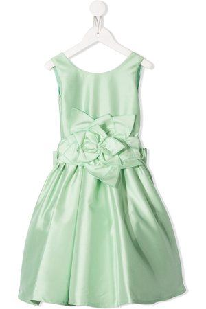 Piccola Ludo Kleid mit Blumenapplikation