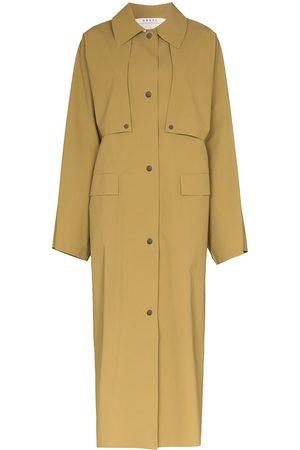Kassl Editions Damen Trenchcoats - Geknöpfter Mantel