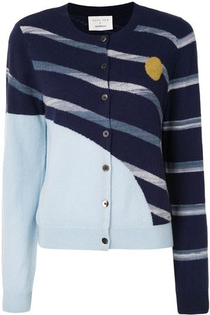 Onefifteen Damen Strickjacken - Cardigan mit geometrischem Muster