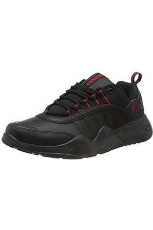 K-Swiss Herren CR-CASTLE Sneaker, (Black/Ribbon Red 005)